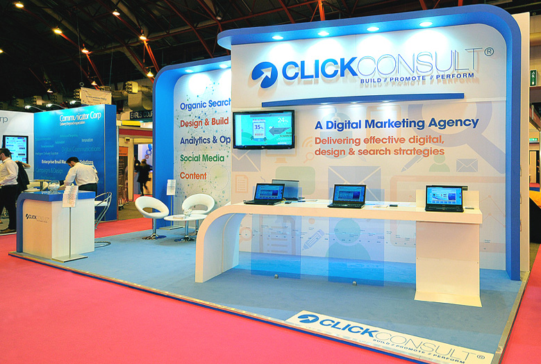 Marketing Exhibition Stands : Click consult custom build exhibition stands exhibition stand