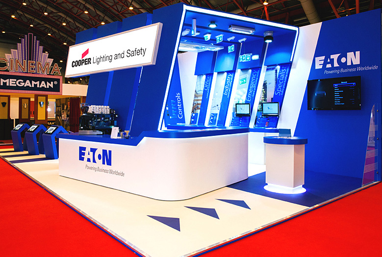 Exhibition Stand Lighting Zone : Custom exhibition stand design build image display graphics