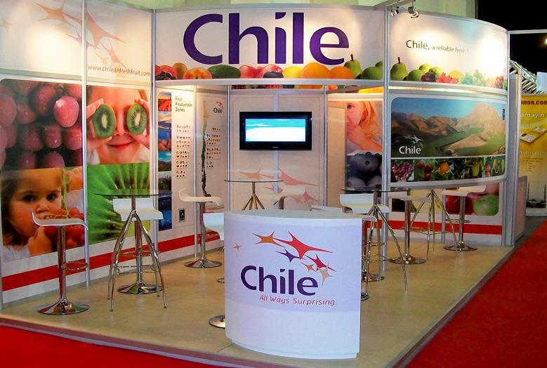 stand modulares chile